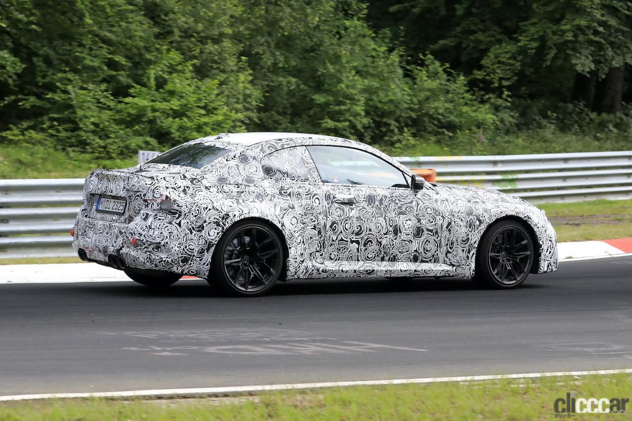 「新型BMW M2がニュルで高速テスト!M3/M4用3L直6ツインターボをデチューン搭載」の8枚目の画像