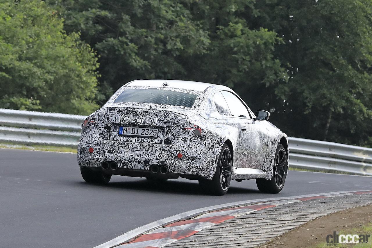 「新型BMW M2がニュルで高速テスト!M3/M4用3L直6ツインターボをデチューン搭載」の9枚目の画像