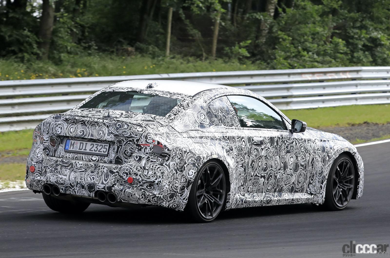 「新型BMW M2がニュルで高速テスト!M3/M4用3L直6ツインターボをデチューン搭載」の10枚目の画像