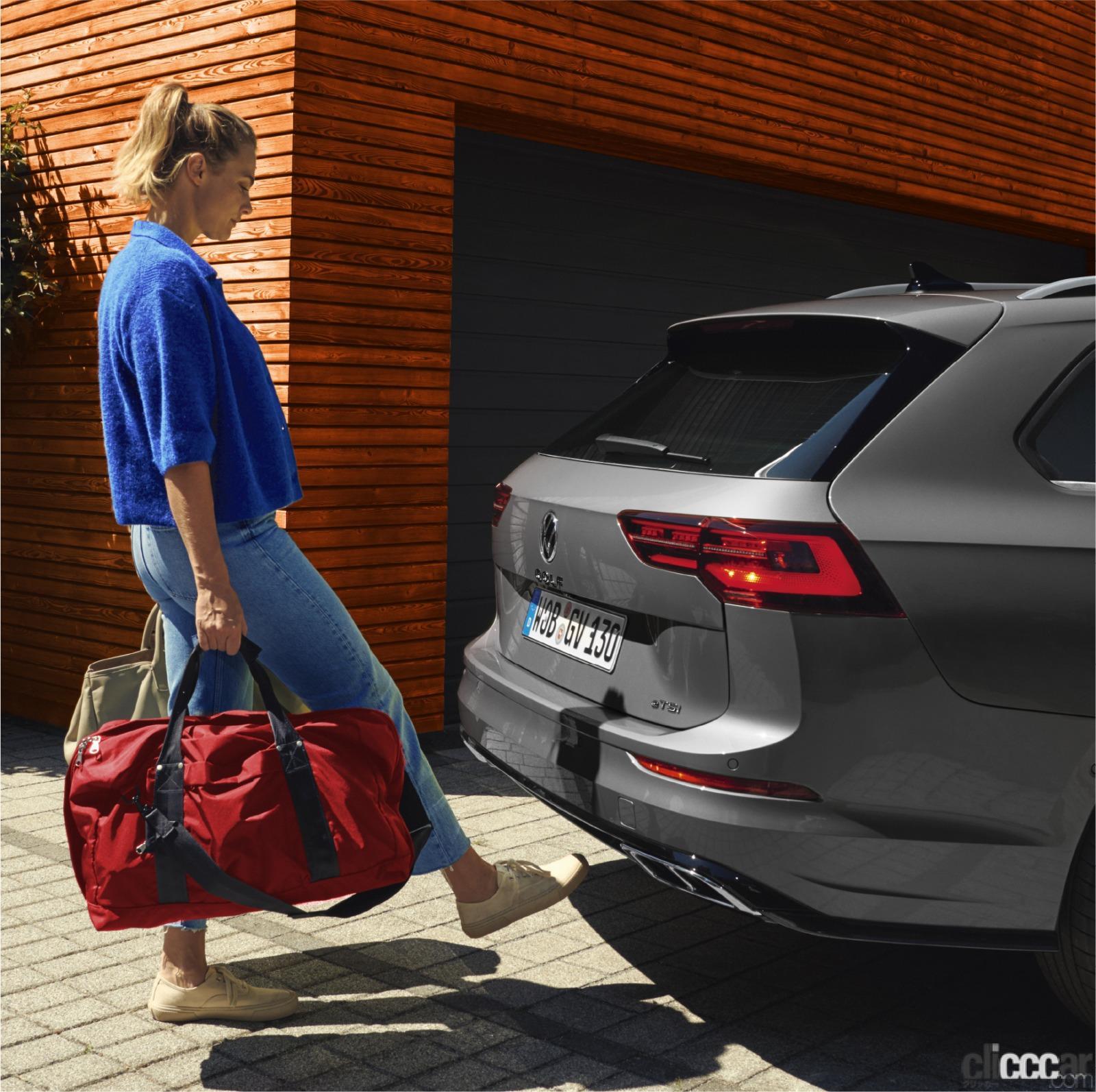 「後席とラゲッジが拡大した新型フォルクスワーゲン・ゴルフヴァリアントは、305万6000円〜389万5000円」の4枚目の画像