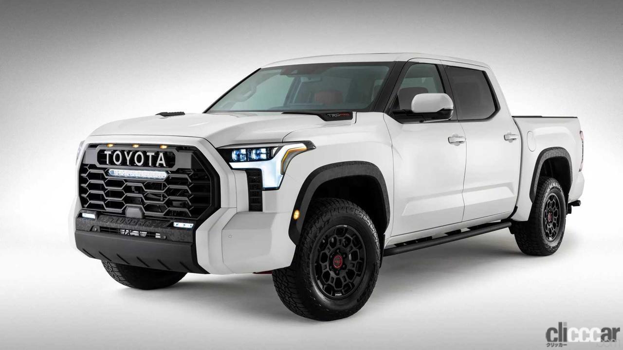 「エンジンは3.5L V6か?トヨタ タンドラ次期型、車内を先行公開。「TRD Pro」シートも奢る」の4枚目の画像