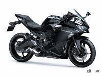 「Ninja ZX-25R」などカワサキ250cc・400ccスポーツバイクに2022年新色!最新レーサー・イメージのカラーも - 2022NinjaZX-25R