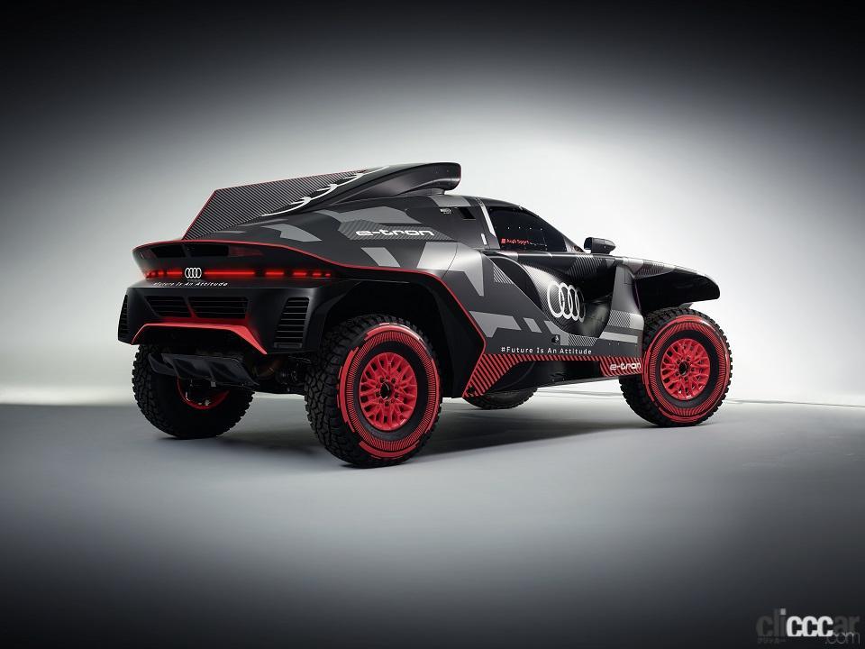 「ダカールラリーに100%電動駆動の「Audi RS Q e-tron」で挑むアウディ」の2枚目の画像