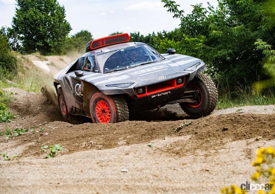 「ダカールラリーに100%電動駆動の「Audi RS Q e-tron」で挑むアウディ」の4枚目の画像