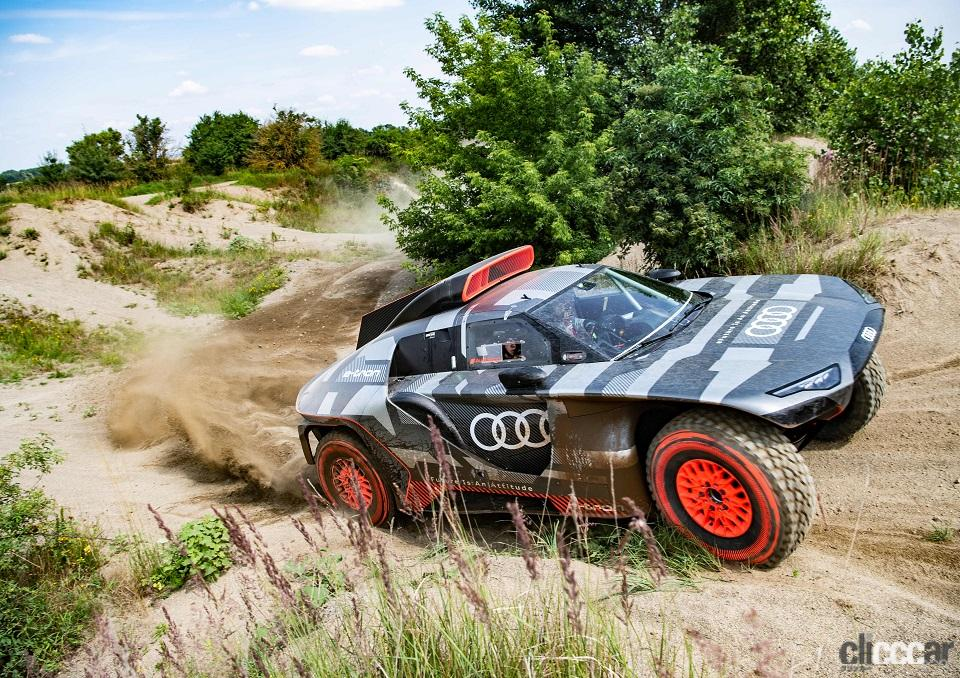 ダカールラリーに100%電動駆動の「Audi RS Q e-tron」で挑むアウディ