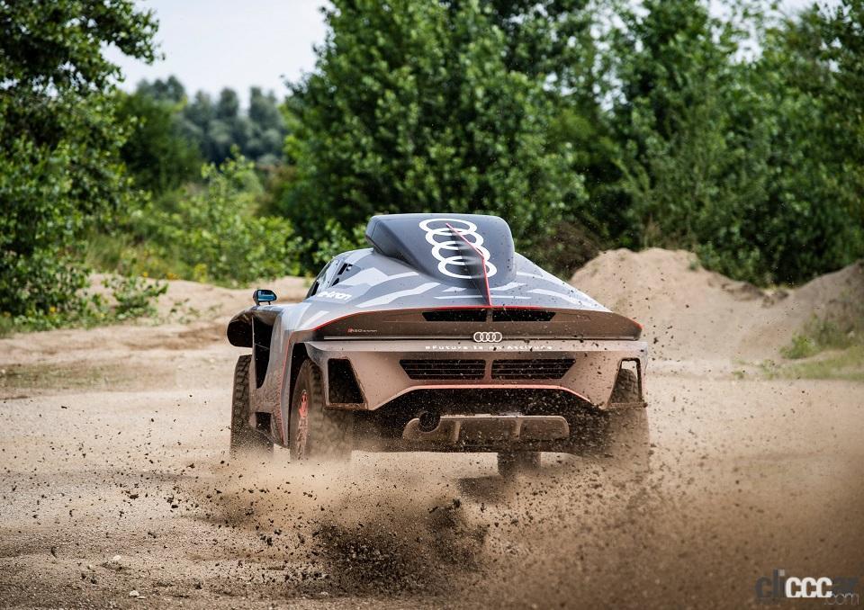 「ダカールラリーに100%電動駆動の「Audi RS Q e-tron」で挑むアウディ」の6枚目の画像