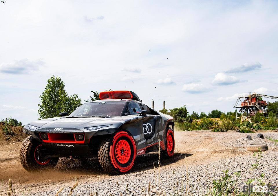 「ダカールラリーに100%電動駆動の「Audi RS Q e-tron」で挑むアウディ」の8枚目の画像