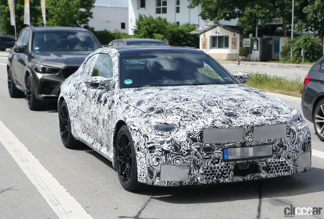 「新型BMW・M2は、2シリーズとは異なる専用の湾曲ディプレイを採用か?」の4枚目の画像