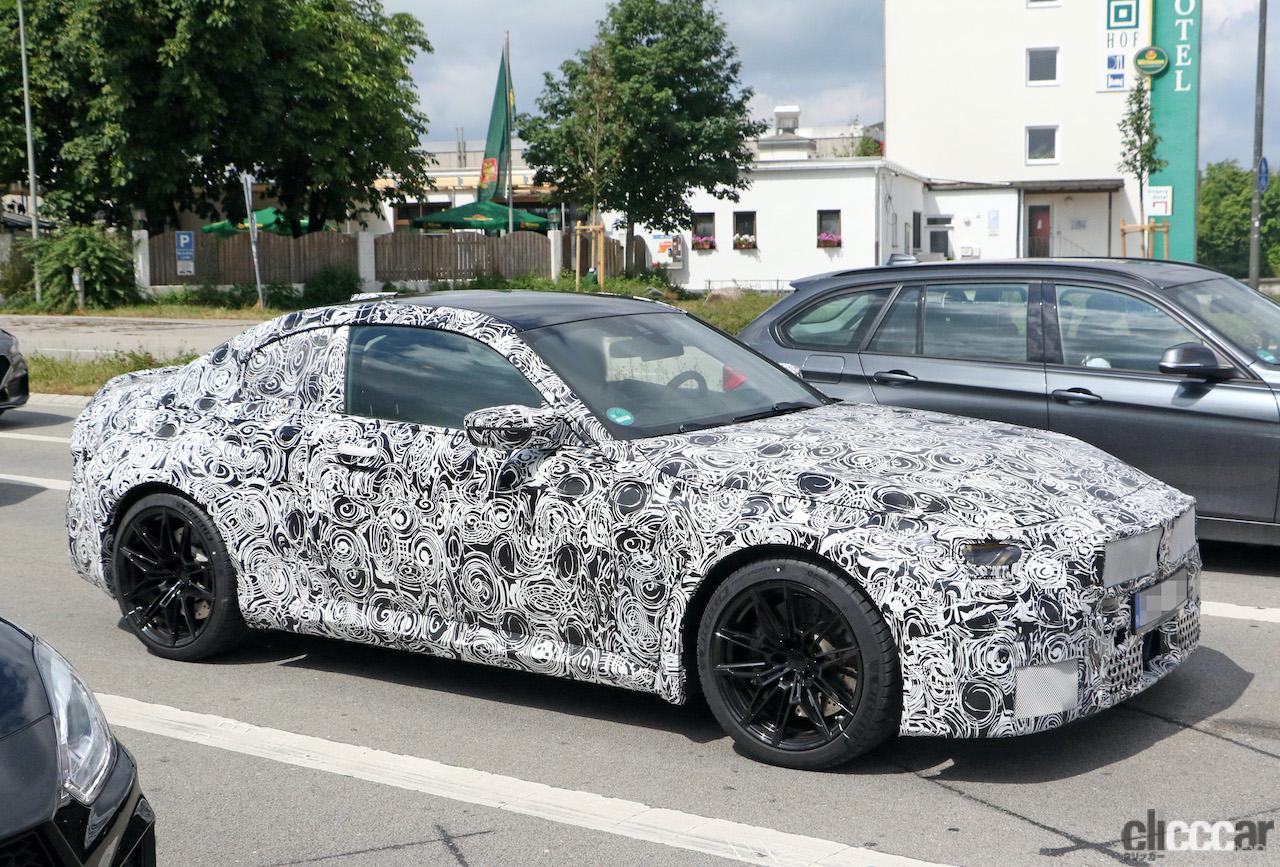 「新型BMW・M2は、2シリーズとは異なる専用の湾曲ディプレイを採用か?」の7枚目の画像