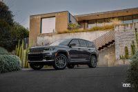 新型「ジープ・グランドチェロキーL」が3列シートを擁して、今秋発表へ - Jeep_Grand Cherokee_20210730_4