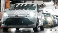 新型アクアも「東北復興の星」の想いを胸に、トヨタ自動車東日本の岩手工場でラインオフ - TOYOTA_AQUA_20210730_3
