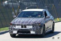 BMW 5シリーズ次期型、スリムグリルを採用か?電動化進み内燃エンジンはどうなる!? - BMW 5 Series 2
