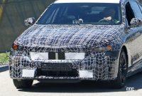 BMW 5シリーズ次期型、スリムグリルを採用か?電動化進み内燃エンジンはどうなる!? - BMW 5 Series 3