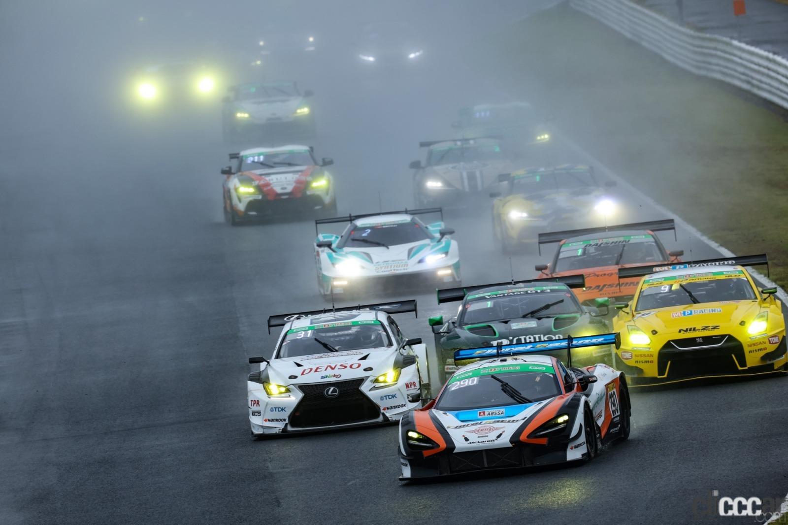 井出有治&マクラーレン720S GT3のスーパー耐久第4戦オートポリスはドタバタ劇の末に初優勝!
