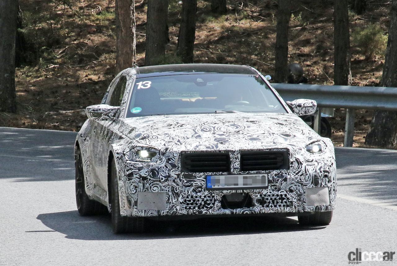 「新型BMW・M2、専用グリルが初露出。登場は2022年後半?」の2枚目の画像