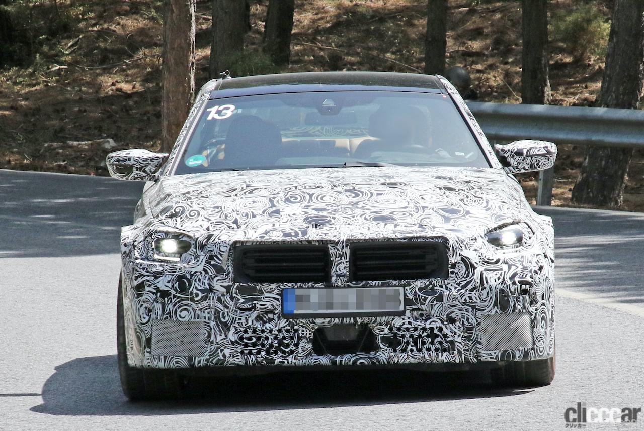 「新型BMW・M2、専用グリルが初露出。登場は2022年後半?」の3枚目の画像
