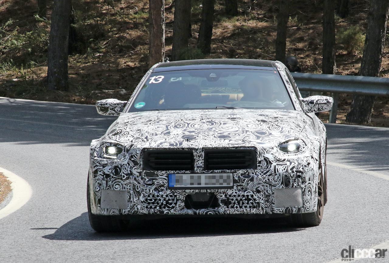 「新型BMW・M2、専用グリルが初露出。登場は2022年後半?」の5枚目の画像