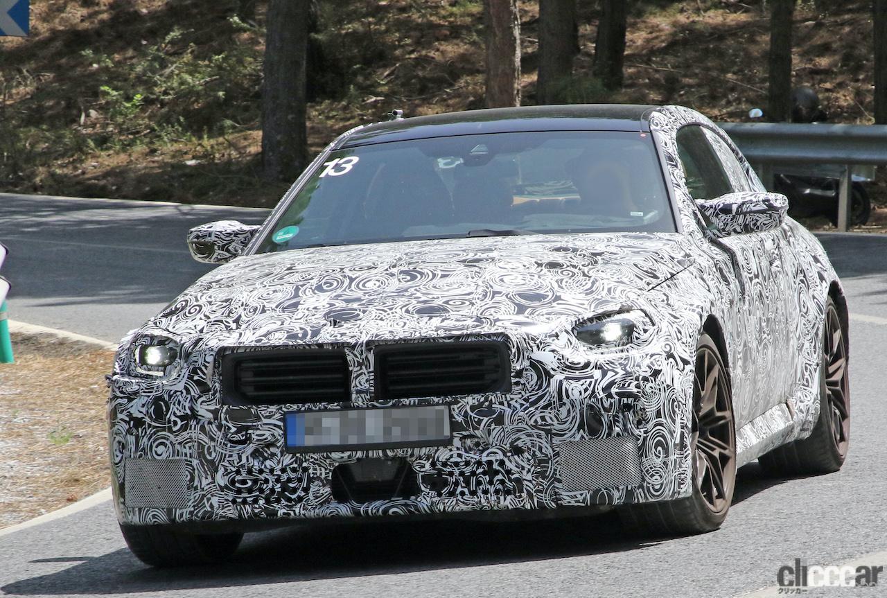 「新型BMW・M2、専用グリルが初露出。登場は2022年後半?」の6枚目の画像