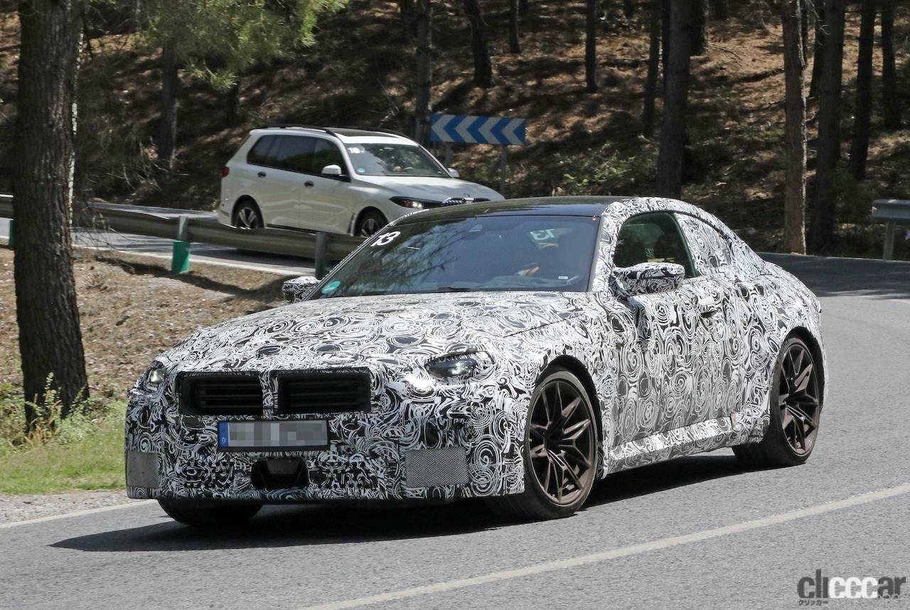 「新型BMW・M2、専用グリルが初露出。登場は2022年後半?」の7枚目の画像