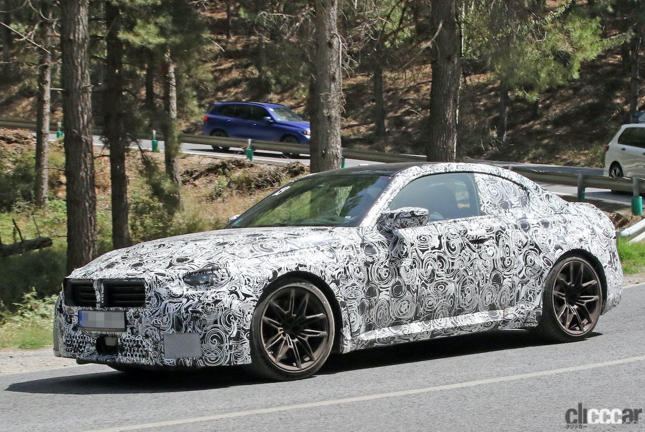 「新型BMW・M2、専用グリルが初露出。登場は2022年後半?」の8枚目の画像