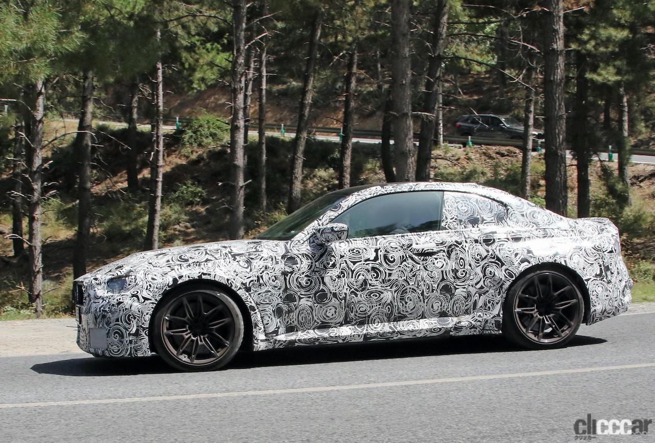 「新型BMW・M2、専用グリルが初露出。登場は2022年後半?」の9枚目の画像