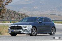 メルセデス・ベンツ Aクラス改良型は新ヘッドライト、グリルとバンパーを装備でCクラス風に - Mercedes A Class facelift 15