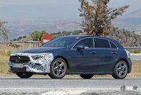 メルセデス・ベンツ Aクラス改良型は新ヘッドライト、グリルとバンパーを装備でCクラス風に - Mercedes A Class facelift 16