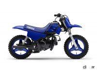 オフロード走行を楽しむキッズ向けファンバイク 「PW50」の2022年モデルが登場! - YAMAHA_20210805_1