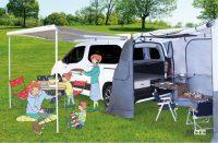 シトロエン・ベルランゴ/プジョー・リフター向けにアウトドアや車中泊を快適にする「CAMP STAR」が設定 - Whitehouse_campingcar_item_20210811_1