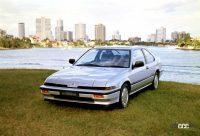 アメリカで「インテグラ」復活を公表!そのルーツはDOHC専用車だった - 1985_quint_integra