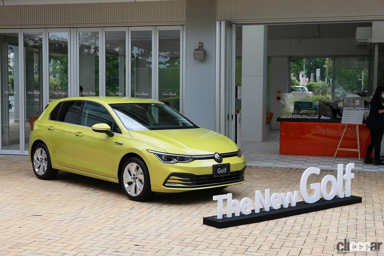 「新型フォルクスワーゲン・ゴルフに乗って飯田裕子は思った。デジタル化&電動化が進んでも「みんゴル」は健在!」の1枚目の画像