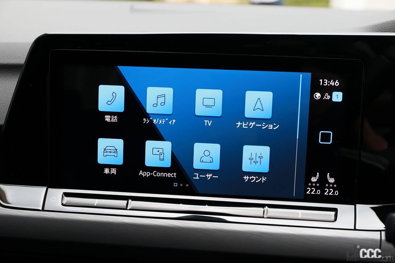 「新型フォルクスワーゲン・ゴルフに乗って飯田裕子は思った。デジタル化&電動化が進んでも「みんゴル」は健在!」の5枚目の画像