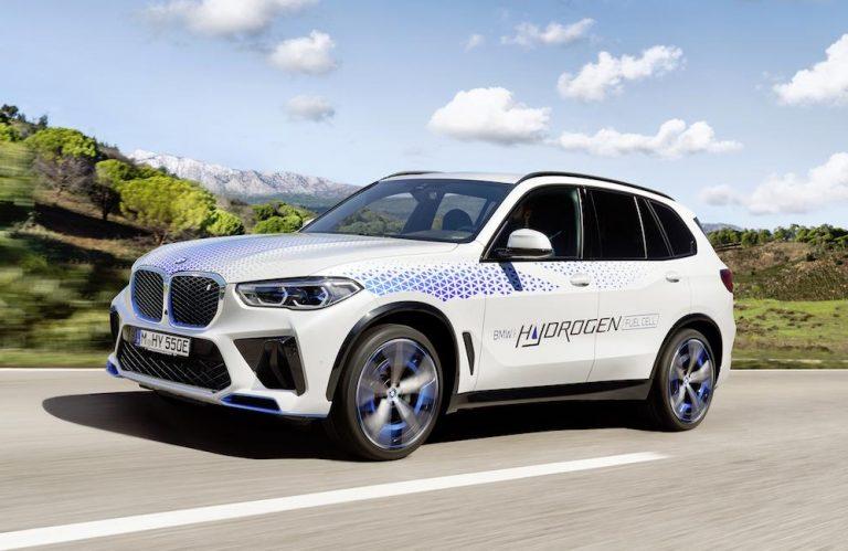 BMW iX5ハイドロジェン