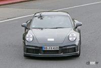 レトロなダックテールスポイラーを持つポルシェ「911スポーツクラシック」、パワーは473馬力か? - Porsche 911 Sport Classic 3