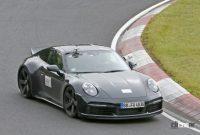 レトロなダックテールスポイラーを持つポルシェ「911スポーツクラシック」、パワーは473馬力か? - Porsche 911 Sport Classic 6