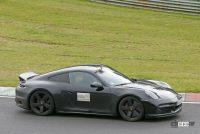 レトロなダックテールスポイラーを持つポルシェ「911スポーツクラシック」、パワーは473馬力か? - Porsche 911 Sport Classic 9