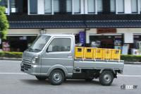 荷物が積みおろししやすく、運転しやすい。三菱ミニキャブ トラックが先進安全装備を強化 - MITSUBISHI_minicab_truck_20210827_3