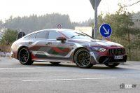 公開直前! メルセデス最高級4ドア「AMG GT 73e」は800馬力オーバー - Spy shot of secretly tested future car