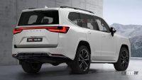 公開間近! レクサス「LX600」次期型、テールライトは新型NXと同じ? - Next-Gen-Lexus-LX-Rendering-2