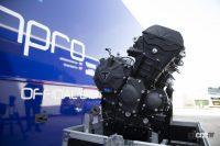 名門トライアンフ、MotoGPの登竜門となる「Moto2」向け3気筒エンジンを継続供給 - triumph_moto2_eg