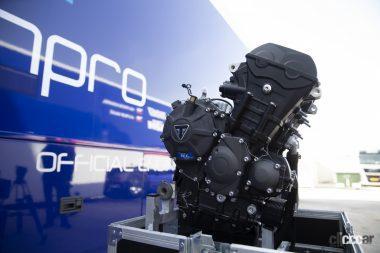 Moto2向け3気筒エンジンをトライアンフが継続供給