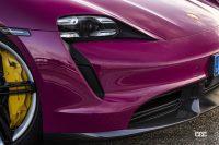 新モデルイヤーのポルシェ・タイカン、タイカンクロスツーリスモが一部改良。「リモートパークアシスト」や多彩なボディカラープログラムに対応 - Porsche_taycan_20210830_3