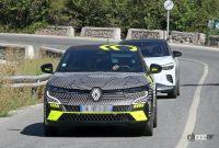日産アリアの姉妹車が公開秒読み!ルノー「メガーヌE-TECH」市販型スクープ - Renault Megane E-Tech Electric 1