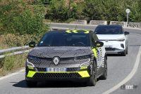 日産アリアの姉妹車が公開秒読み!ルノー「メガーヌE-TECH」市販型スクープ - Renault Megane E-Tech Electric 2