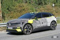 日産アリアの姉妹車が公開秒読み!ルノー「メガーヌE-TECH」市販型スクープ - Renault Megane E-Tech Electric 5