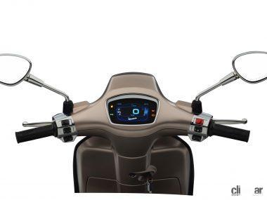 ベスパ・スプリントS150に4.3インチ液晶メーター付き特別仕様車