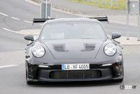 「究極のNA・911」ポルシェGT3 RSの最終デザインが見えた! - Porsche 992 GT3 RS 1