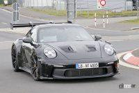 「究極のNA・911」ポルシェGT3 RSの最終デザインが見えた! - Porsche 992 GT3 RS 2