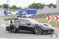 「究極のNA・911」ポルシェGT3 RSの最終デザインが見えた! - Porsche 992 GT3 RS 7