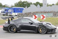 「究極のNA・911」ポルシェGT3 RSの最終デザインが見えた! - Porsche 992 GT3 RS 8
